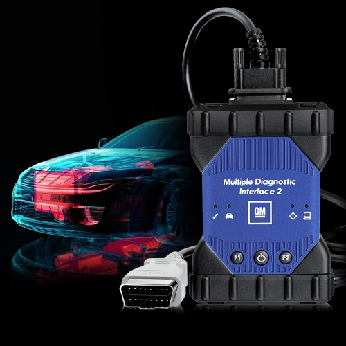 GM MDI 2 Multiple Diagnostic Interface with Wifi Card Support Cars From 1996 To 2017