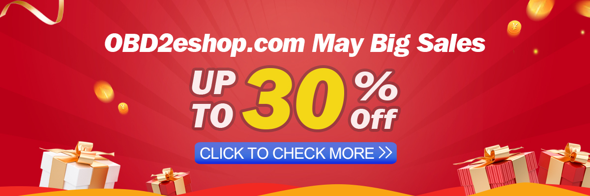 2020 OBD2eshop May Big Sale, Up to 30% Off~