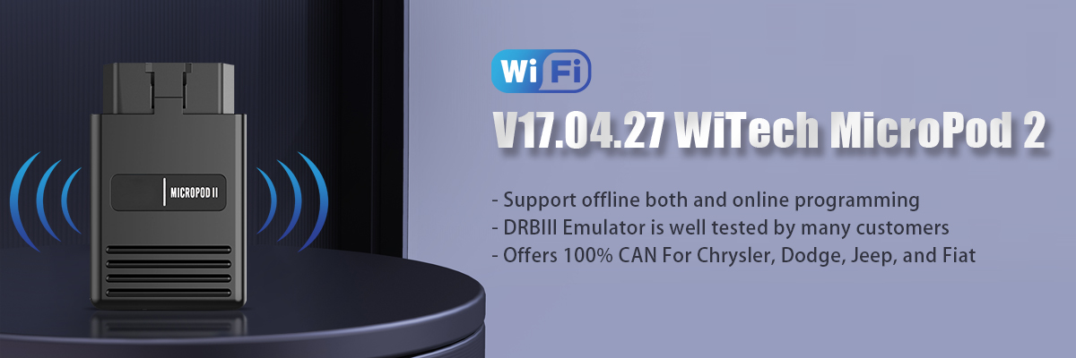Wifi Version V17.04.27 WiTech MicroPod 2