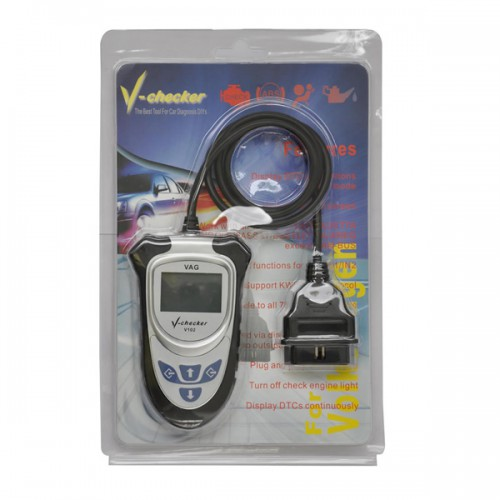 Spanish Version V-CHECKER VCHECKER V102 V-A-G PRO Code Reader Without CAN BUS