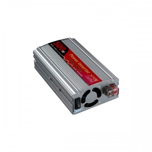 500W USB Car Power Inverter DC 12V to AC 220V