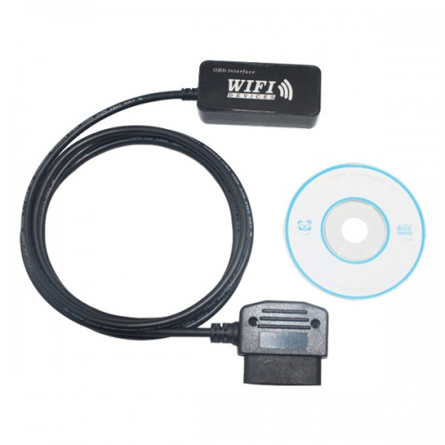 WiFi OBD-II Car Diagnostic Tool for Apple iPad iPhone iPod Touch