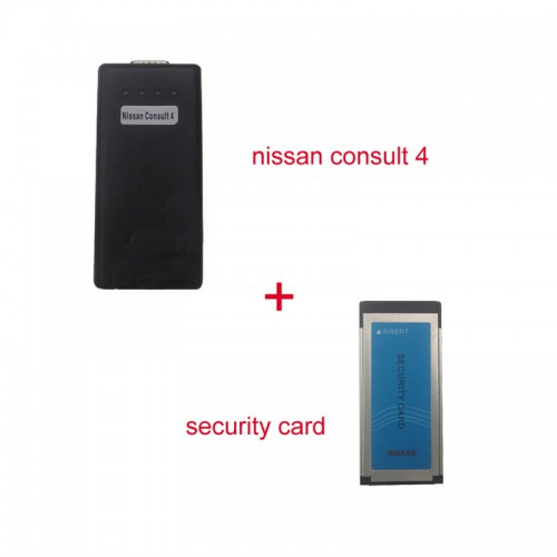 NISSAN Consult 4 + Security Card for Immobiliser