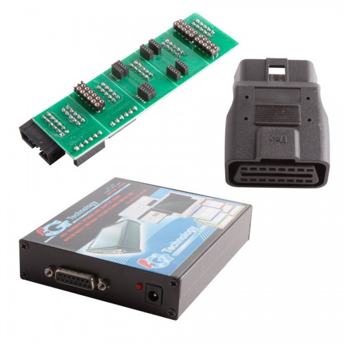 NEW FGTech Galletto 2-Master V50 with Original BDM Adaptor & OBD Truck Connector