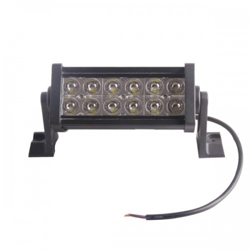 36w 2500 LM Super Bright Reflection Cup Led Work Light Bar OFFROAD JEEP 12V 24V