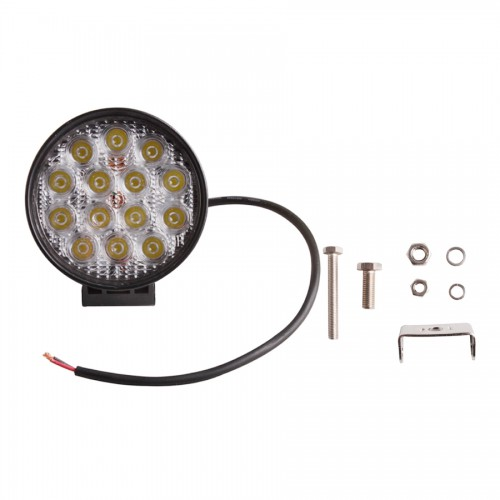 42W flood LED Work Light 12V 24V Jeep boat offroad 4WD truck working lamp 6000K