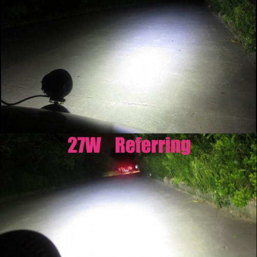 2pcs x 27w Led Work Light 12v/24v Off road Truck 4x4 Boat SUV lamp
