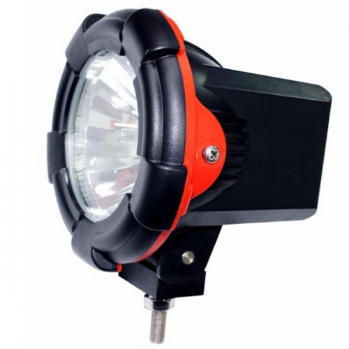 "2 PCS 75W 4"" Inch HID XENON DRIVING SPOTLIGHTS/FLOODFLIGHTS OFF ROAD Lights 4x4 4WD 12V 24V 6000K"