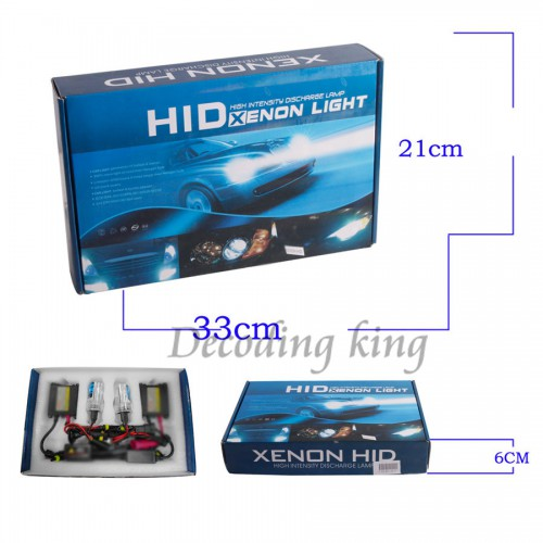 2013 Best 35W CANBUS BI-XENON H4 9004 9007 9003 HB2 HI-LO HID CONVERSION KIT BALLAST AC 12V Works With All Cars