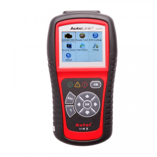 (Ship From US,No Tax) Original Autel AutoLink AL519 OBDII CAN Scanner Update Online