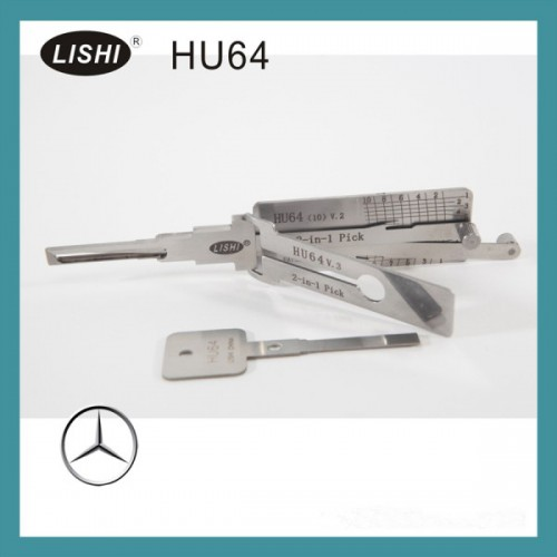 LISHI HU64 2-in-1 Auto Pick and Decoder for Mercedes