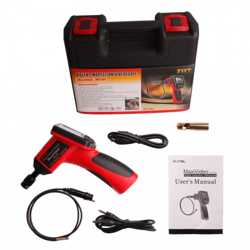 Autel Maxivideo MV208 Digital Videoscope with 5.5mm diameter imager head inspection camera [Buy SO267 instead]