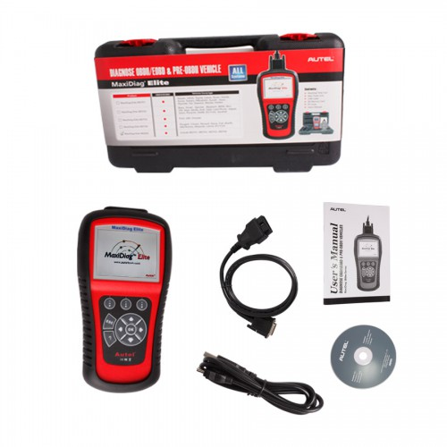 MaxiDiag Elite MD802 for all system (Including MD701, MD702, MD703, MD704) 4 in 1 Code Reader