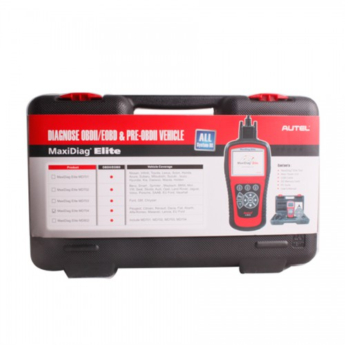 Autel Maxidiag Elite MD704 for All System Update Internet + DS Model (Clearance Price)