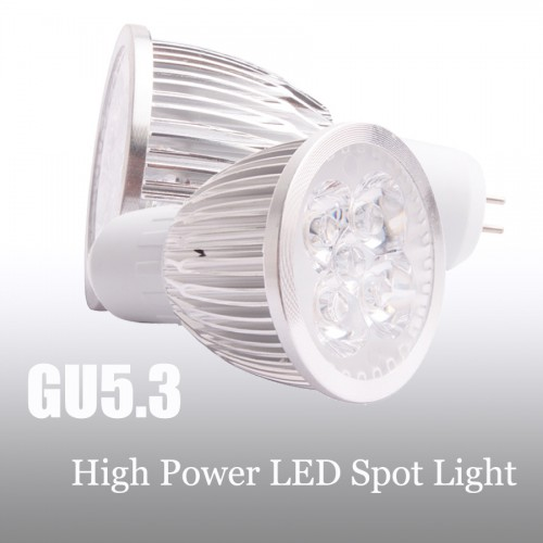 4W GU10 E14 E27 GU5.3 LED High Power SMD Spot Light Saving Lamp Bulb 12V/110/220V
