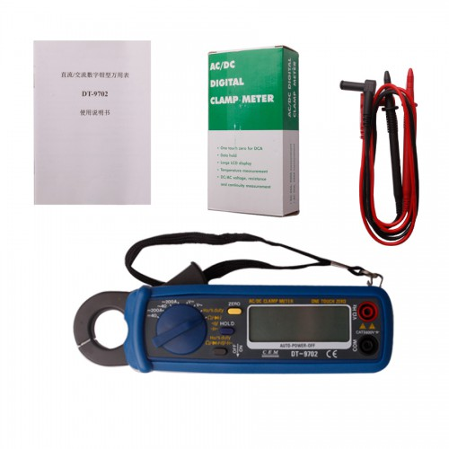 Digital clamp-on meter 9702