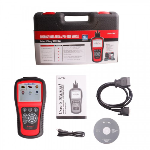 Autel Maxidiag Elite MD704 for 4 system update internet + DS model
