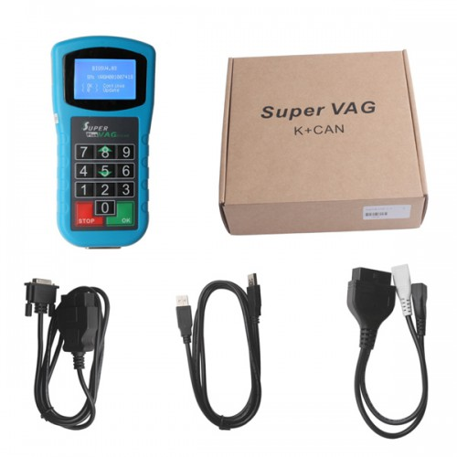 Free Shipping V1.1.2 Super V-A-G K+CAN Plus 2.0 English/Spanish [Buy SV39-B instead]
