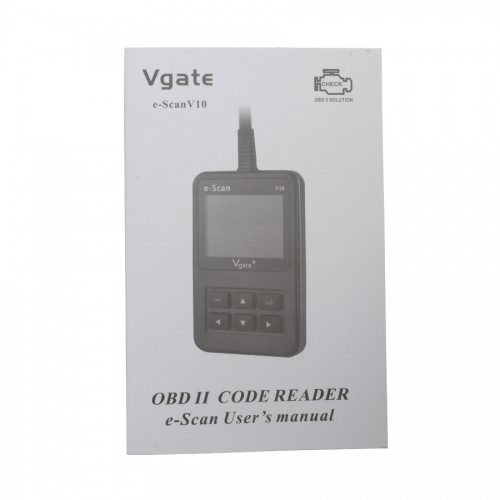 2013 New Arrival Vgate E-SCAN V10 Petrol Car and Light Truck Scan Tool