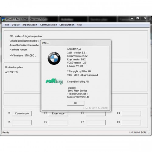 2014.5 ICOM ISTA-D 3.42.40 ISTA-P52.3.002 Software HDD For BMW Multi-language with Engineers Programming