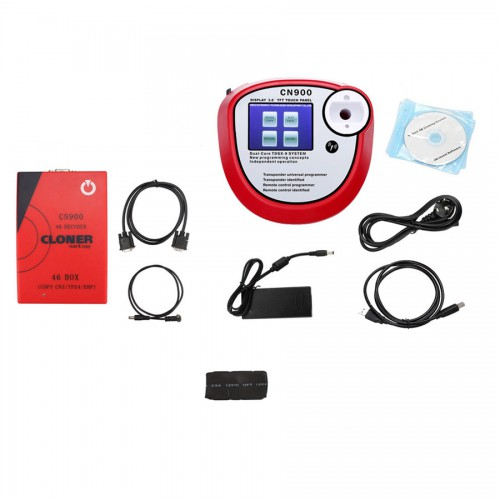 CN900 Universal Car Key Programmer with 46 CLONER BOX and Smart Key YS30 Mother Key for Toyota