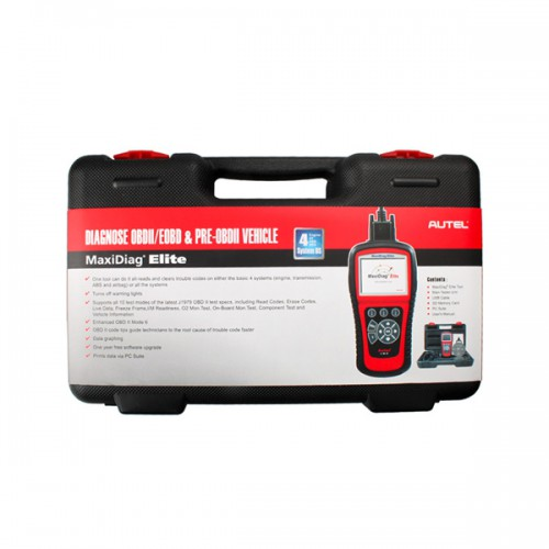 Autel Maxidiag Elite MD702 for 4 Systems + DS model 1 Year Free Update (Buy SC124-B/SC124-D  instead)