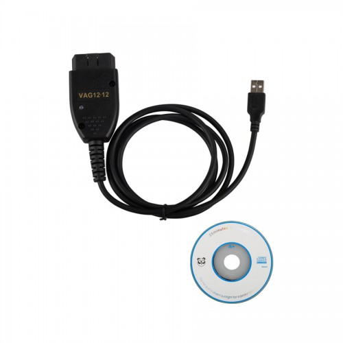 VAG Cable VAGCOM 12.12.3 Diagnostic Cable for VW/AUDI/SKODA/SEAT(English Only)