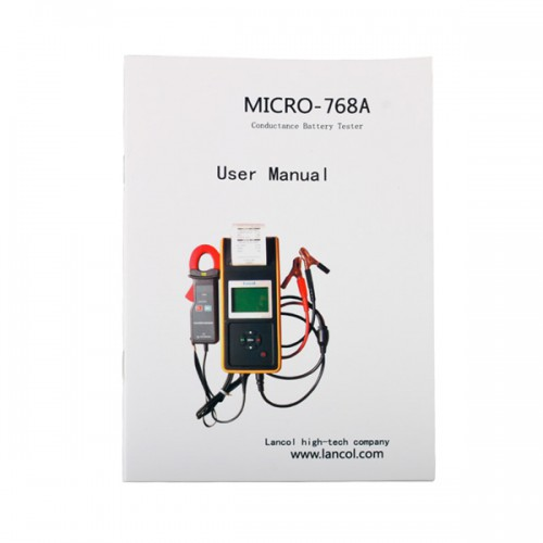 MICRO-568 Battery Tester Battery Conductance & Electrical System Analyzer with Printer