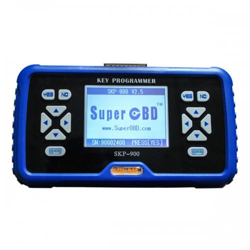 Original V4.4 Portuguese Version SuperOBD SKP-900 Hand-held OBD2 Auto Key Programmer