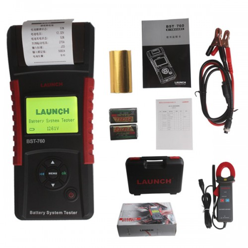 Launch Original BST-760 Battery System Tester