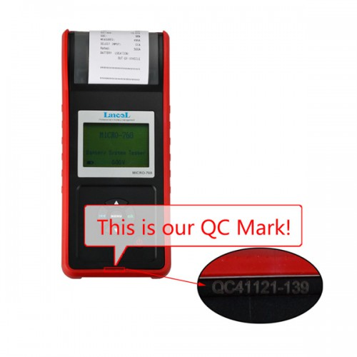 MICRO-768 Battery Tester Conductance Tester