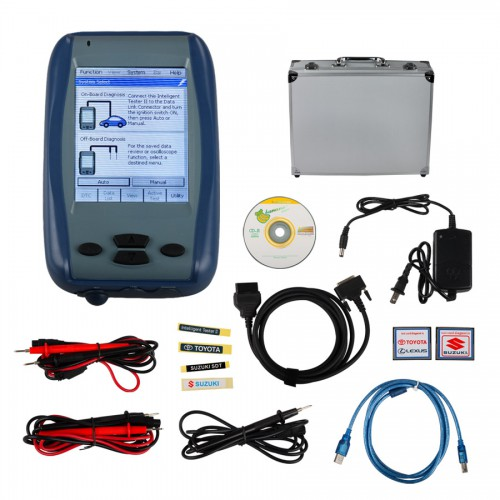Latest 2015.12 Denso Intelligent Tester IT2 for Toyota and Suzuki with Oscilloscop(buy SP17-C/SP17-B instead)