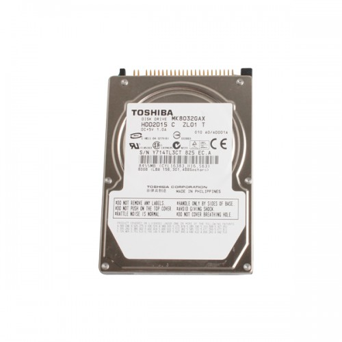 80G internal Hard Disk T30 HDD with IDE Port only HDD without Software