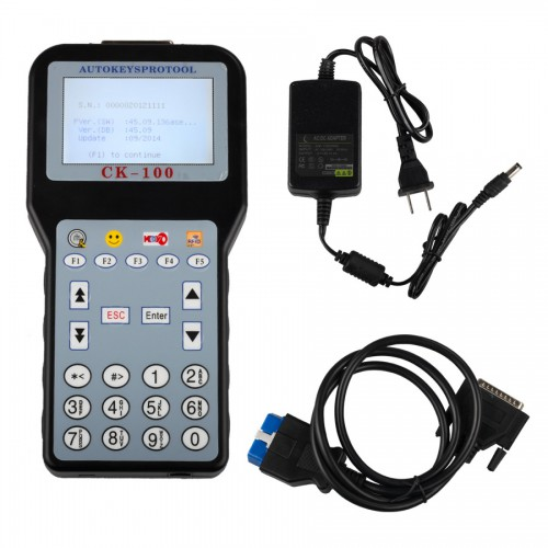 Latest V45.09 CK100 Auto Key Programmer Supports 2014 cars
