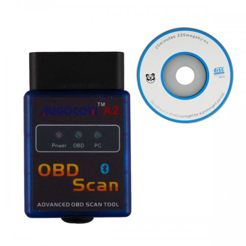 AUGOCOM A2 ELM327 Vgate Scan Android Symbian OBD2 Bluetooth Scanner Software V2.1