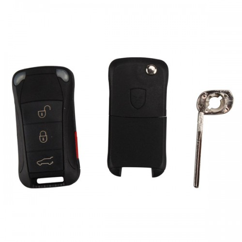 Remote Key Shell 3+1 Button for Porsche