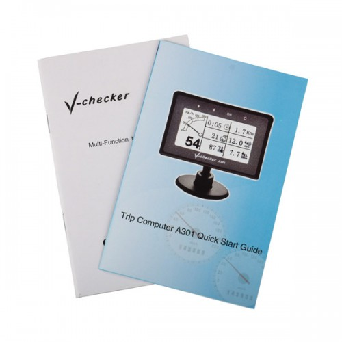 VCHECKER V-CHECKER A301 Multi-Function Code Reader Scanner