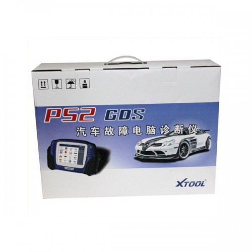 XTOOL PS2 GDS Bluetooth Diagnostic Tool with Touch Screen Update Online 3 Years Warranty