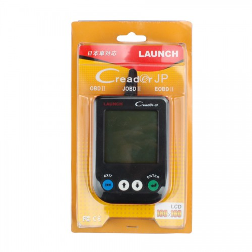 Original Launch X431 CREADER JP Car Universal Code Scanner Support JOBD Protocol