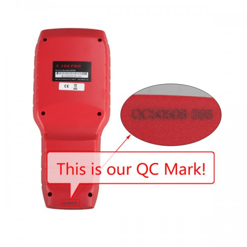 OBDSTAR X-100 PRO Auto key programmer (C) Type for IMMO and OBD Software Function ( buy SK164  instead)