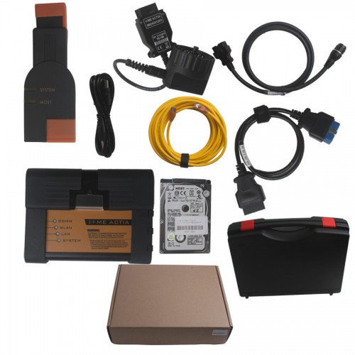 2015.03 Super ICOM A2+B+C Diagnostic and Programming Tool for BMW with HDD Multi-language ISTA-D:3.48.20  ISTA-P: 3.55.1.001