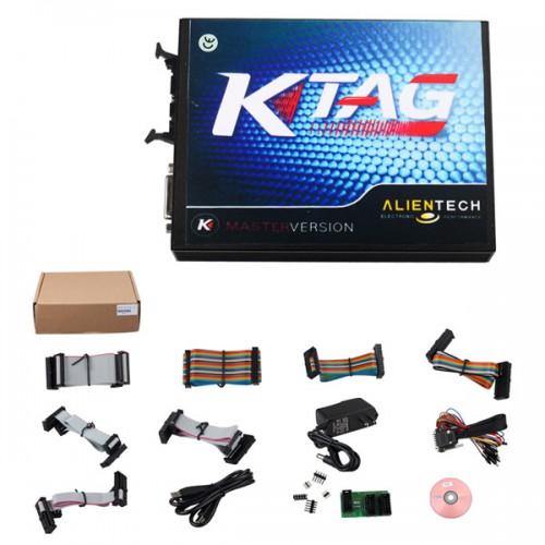 New V2.10 KTAG K-TAG ECU Programming tool Master Version Hardware V5.001 4G