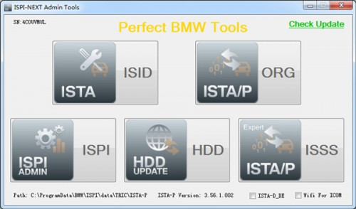 ICOM HDD V2015.7 / Win8 System ISTA-D 3.50.10 ISTA-P 3.56.1.002 without USB Dongle for BMW