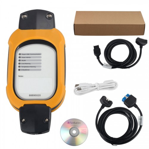 VCADS 88890180 V2.01(88890020 + yellow protection) Auto Diagnostic Interface for Volvo Support Multi-languages
