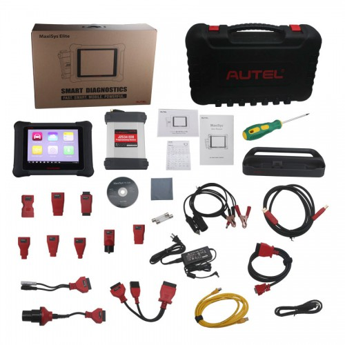 Original AUTEL MaxiSys Elite with J2534 ECU Reprogramming Box  with Docking Station