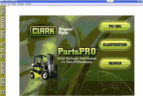 Latest Clark ForkLift (PartProPlus) Electronic Spare Parts Catalogs Supports XP WIN7 WIN8