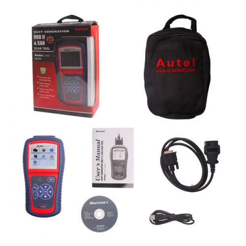 AutoLink AL419 NEXT GENERATION OBDII&CAN SCAN TOOL