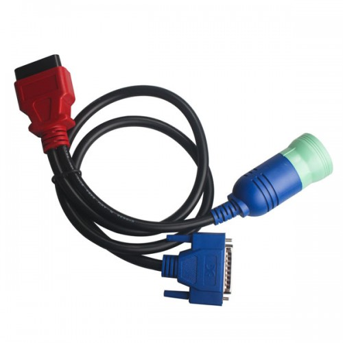 9Pin to OBDII Cable for Volvo work with DPA5 Scanner