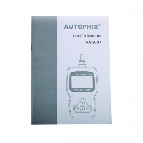 New Arrival AUTOPHIX V007 VW/AUDI Scanl Tool Supports English Germany