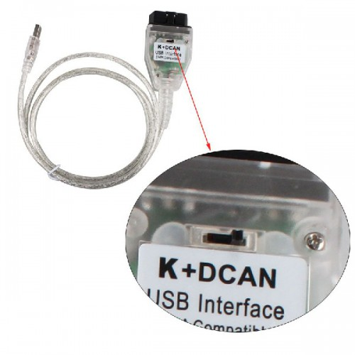 Newest INPA K+CAN for BMW With FT232RQ Chip with Switch